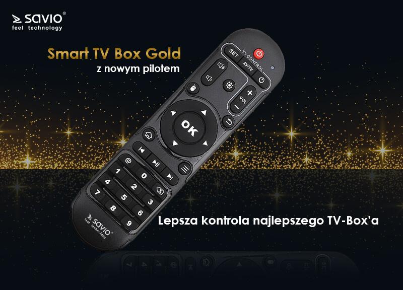 TB-G01 TV BOX GOLD SAVIO