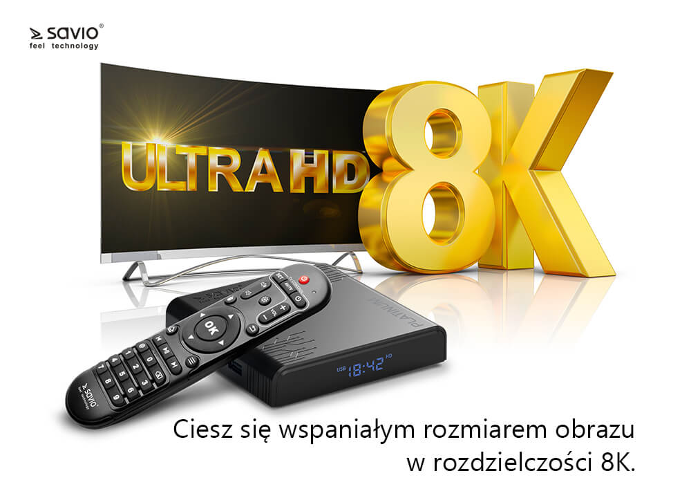TB-P02 TV BOX PLATINUM SAVIO