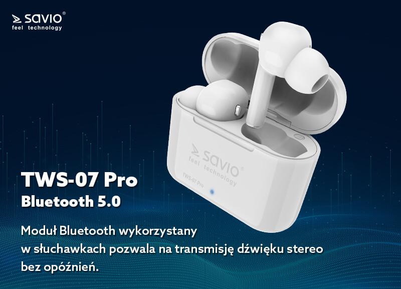 TWS-07 PRO słuchawki bluetooth