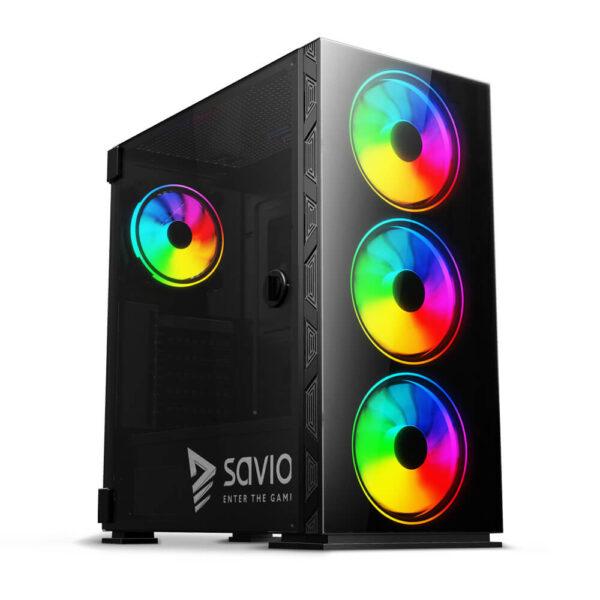 SAVIO Prime X1 ARGB Case Glass