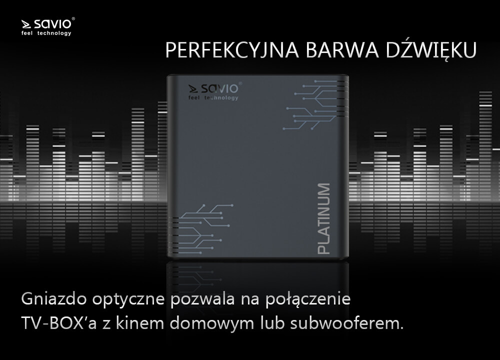 TB-P02 TV BOX PLATINUM SAVIO