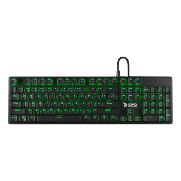 Mechanical Gaming Keyboard SAVIO Tempest RX FULL Outemu BROWN