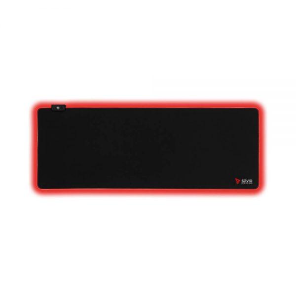 Podkładka Gamingowa LED Edition z obszyciem SAVIO Turbo Dynamic L